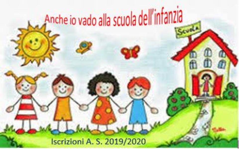 Iscrizioni Scuola dell'Infanzia A.S. 2019/2020